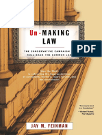 Jay M. Feinman-Un-Making Law_ the Conservative Campaign to Roll Back the Common Law (2005)