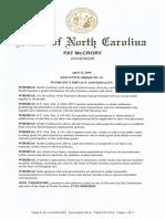 04-12-16 Gov McCrory - Executive Order 93