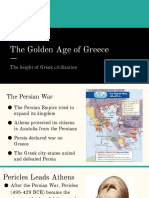 golden age of greece pptx