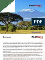 Kibo Mining CorpPresentation V3.1 181116
