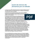 P15b_Determinación de cloruro de sodio en alimentos por el método de Mohr
