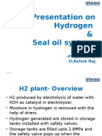 H2 & Seal oil sys