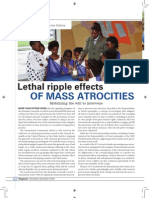 Lethal ripple effects of mass atrocities by Kyle Matthews and Roméo Dallaire Vanguard magazine Nov/Dec 2009