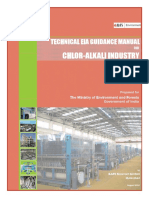 Technical EIA Guidance Manual for Chlor-Alkali Industry