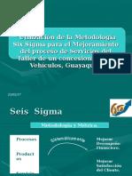 Implementacion de Sistemas Six Sigma