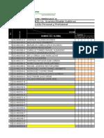 Listas de Asistencia 210 21617