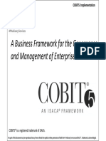 Student Handbook for COBIT5 Implementation Training