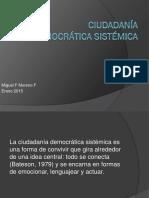 Ciudadanía Sistémica v1.0