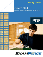 Microsoft 70-410 - Installing and Configuring Windows Server 2012