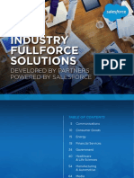 Salesforce Industry Fullforce Brochure