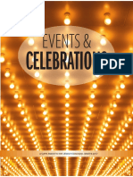 Events and Celebrations, Winter 2017