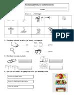 Evaluación Bimestral de Comunicación