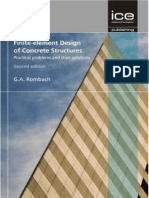 Finite-element Design of Concrete Structures