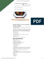 Ubuntu 16.04 LTS – How to Install and Configure SAMBA - Martin's Blog