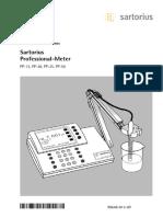 Manual Phmetro