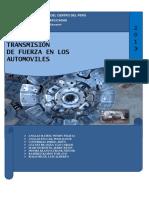 Sistema de Transmion de Fuerzas de Un Automovil