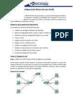 1.- Configuración Básica de Una VLAN