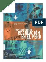 Fernández - Baca 2004 Experiencia de Regulación en El Perú