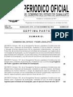 Ley de Ingresos Estado Guanajuato Periodico Oficial PO 207 7ma Parte 20161229 0112 10