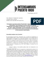 Comentarios Intercambios PR al PC654