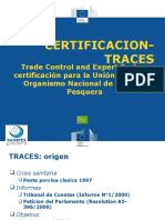 Certificacion Traces Sanipes