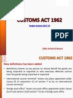 Customs Act 1962 AB Nawal