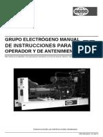 Manual de Instrucciones de Operacion y Mantenimiento
