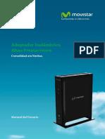Manual Usuario Adaptador Inalambrico Altas Prestaciones WNHD3002G Netgear