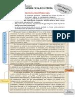 Ejemplos Ficha de Lectura 2015