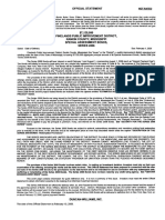 Pinelands Bonds Official Statement