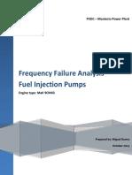 MONTE RIO - Frecuency Failure Anaylisis - Fuel Injection Pumps