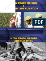 Indian Trade Liberalisation