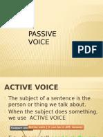 Passive Voice Tutorial