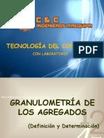 Tecnologia Del Concreto Granulometris de Agregados