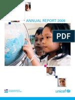 UNICEF Annual Report 2009