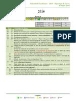 Calendário Reposição 2016