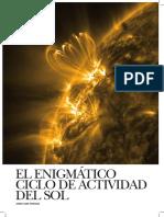 Revista Astronomía Ciclo Sol r