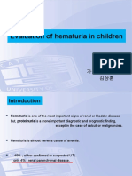 Pediatric hematuria evaluation.ppt