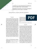 Formas y Disponibilidad de Fosforo en Suelos Del Sur de Chile y Flanders (Brouwere Et Al., 2003)