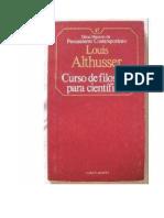 Althusser Louis - Curso De Filosofia Para Cientificos.pdf
