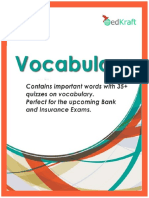Exampundit 4000 Vocabulary for Bank Po Exams 2016 2017 Edkraft In