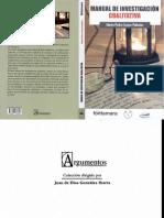 Izzcara Palacios_2014_manual de Investigación Cualitativa