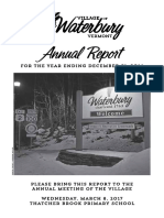 Waterbury Village Report 2016