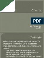 Clisma