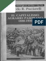 Pucciarelli, Alfredo. El Capitalismo Agrario Pampeano 1880-1930