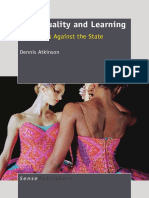 ATKINSON, D. (2011) Art Equality and Learning Pedagogies Against the State