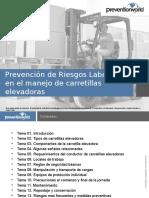 Introduccion PRL Carretillas Elevadoras