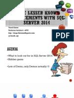 03-05-2014-Vinod-Gems of SQL 2014 (1)