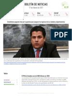 Boletín de noticias 17 de febrero de 2017(2)