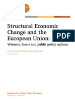 Structural Economic Change and the EU, 2008
